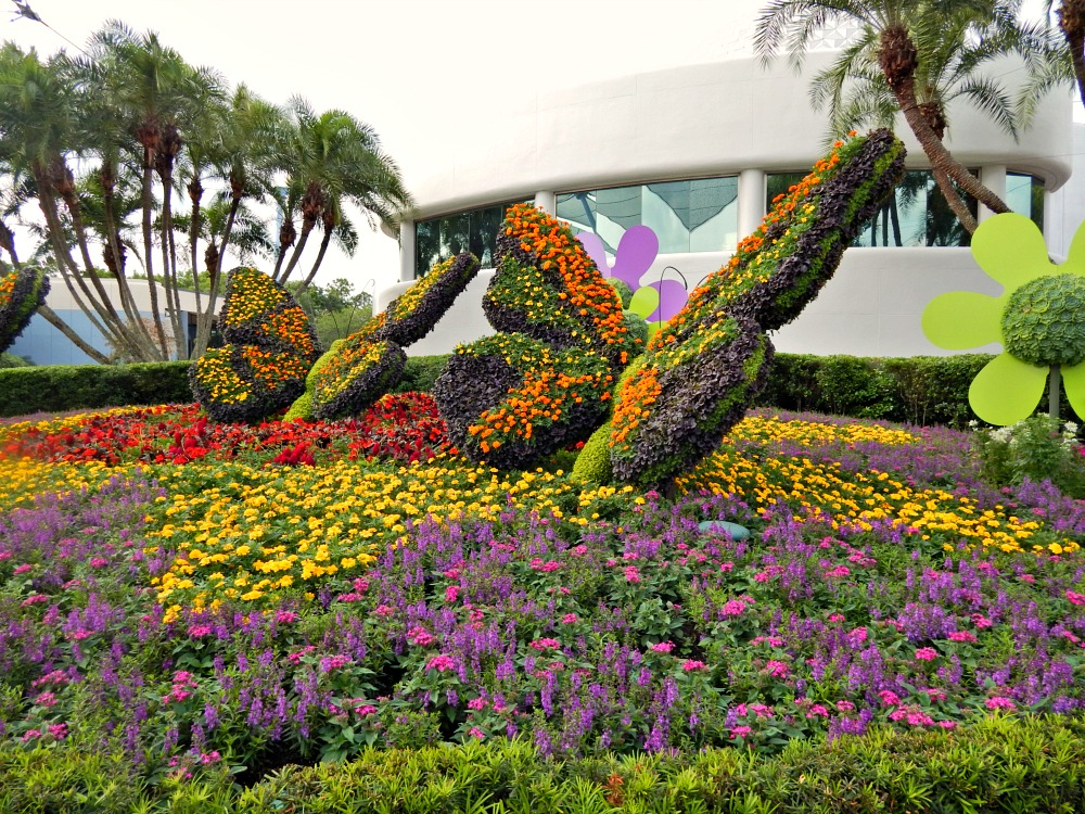 Topiaries are only one of the family-friendly features at the Epcot International Flower and Garden Festival/ Photo Credit: Karyn Locke/Road Trip TMOM