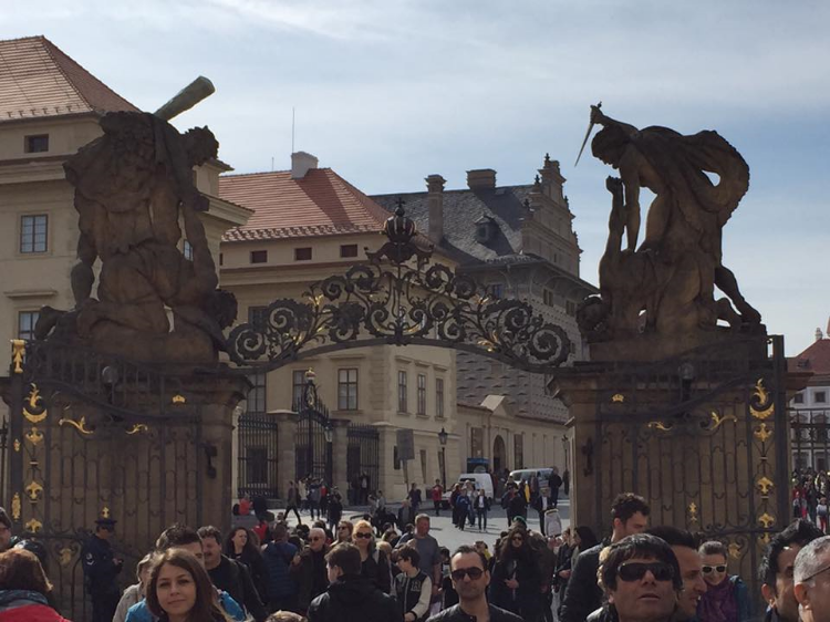 Gates to the Prague Castle
