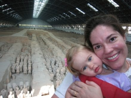 Terra Cotta Warriors in Xian, China - Heather Lee - 7 Continents TravelingMom