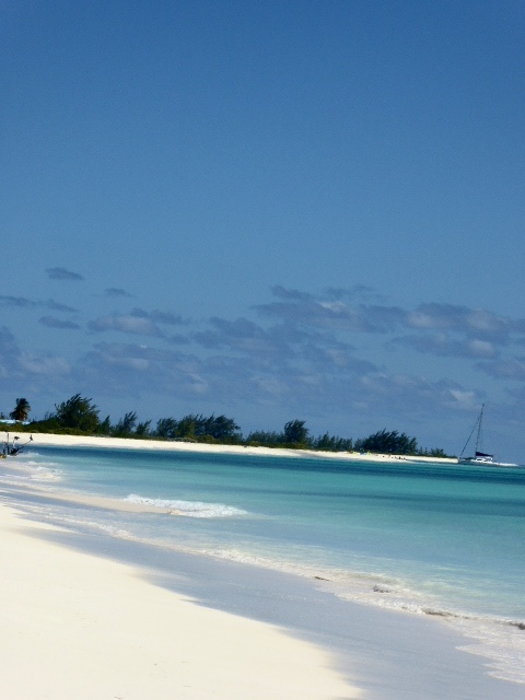 A simply gorgeous beach on Anegada in the BVI. Photo credit Sherry Wernicke, Luxe Traveling Mom.
