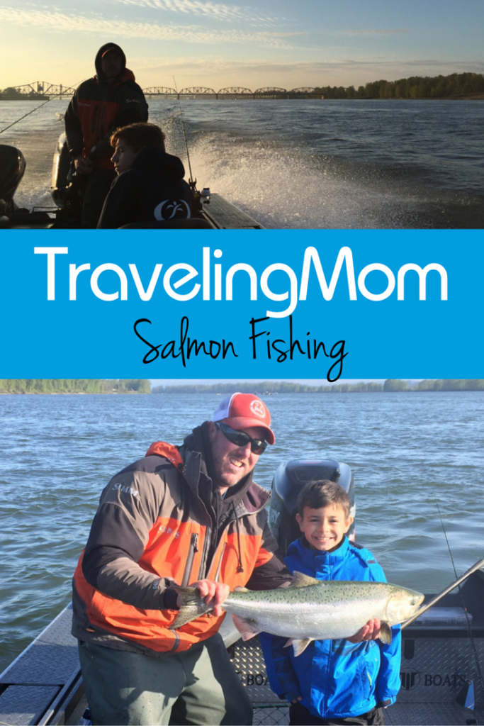 Salmon fishing with Triple S Guide Service