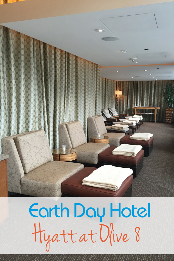How can you celebrate Earth Day on vacation? Stay at a green hotel