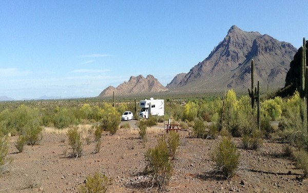 Camp Free or Almost Free in Quartzsite, Arizona