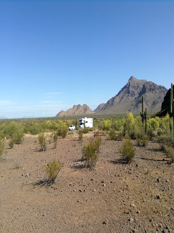 Quartzsite, RV Camping, Arizona