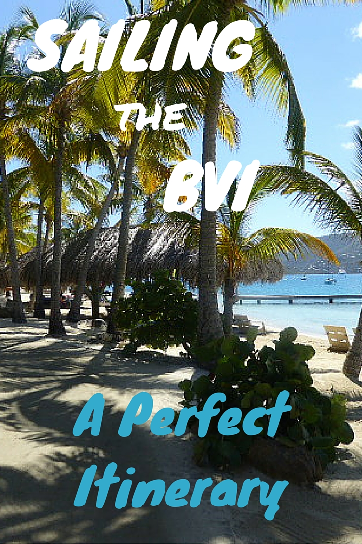 what is a perfect itinerary for sailing the vvi?