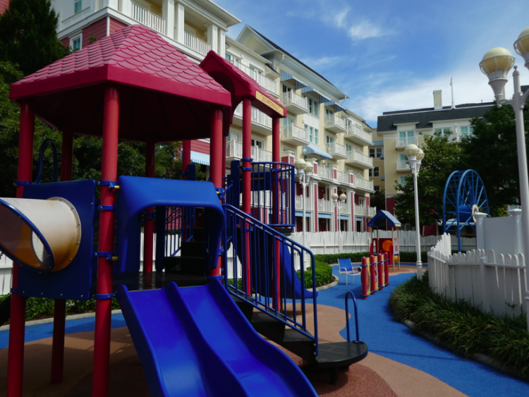 Disney's BoardWalk Inn & Villas Playground.