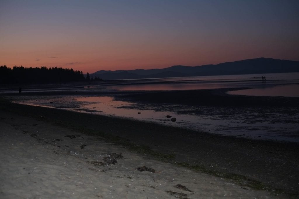 A view of the beach on Vancouver Island, Canada.What participants of the Greatlife Retreat get to enjoy. Photo credit: Sherrice Kirby