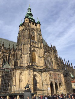 Vitus Cathedral in Prague