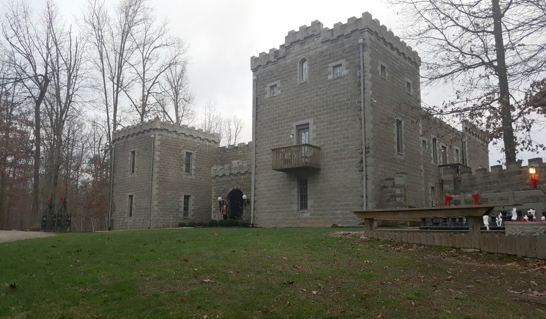 Ravenwood Castle in Ohio is one of the highly unusual places to stay in America.