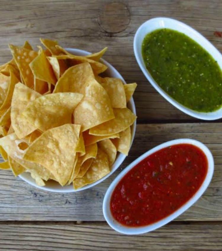 Blancos tacos chips and salsa - an Arizona staple - TravelingMom