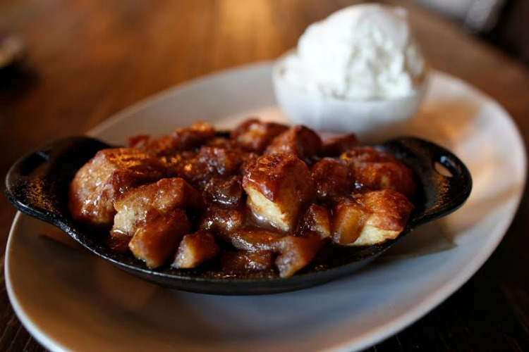 Monkey bread at Culinary Dropout in Arizona - TravelingMom