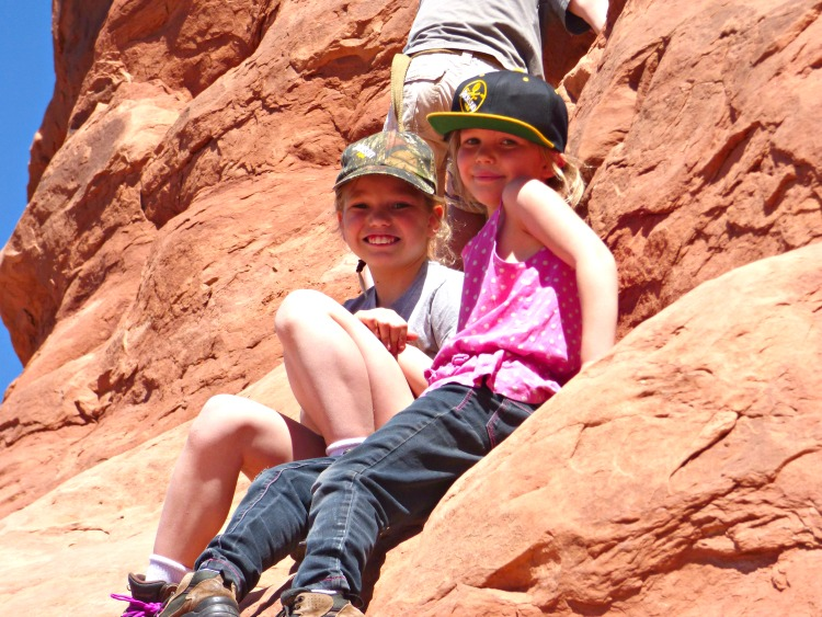 Family Camping in Moab