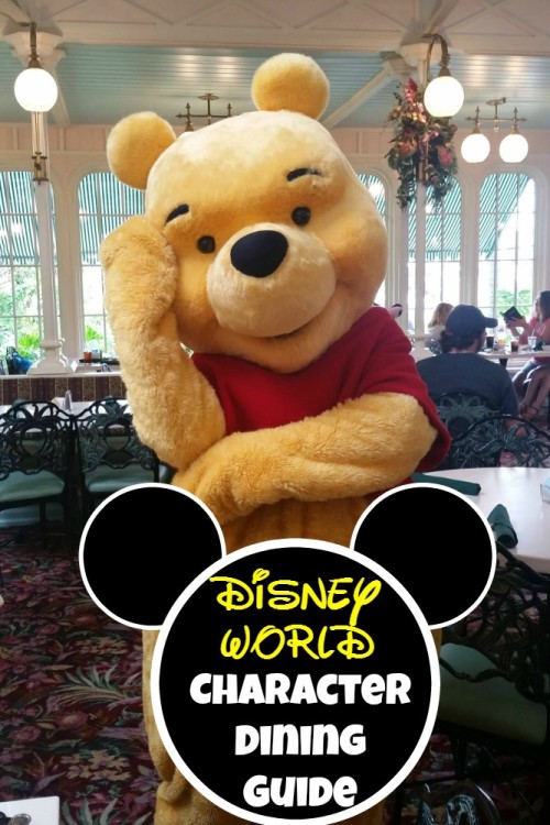 Where to go for character dining at walt disney world