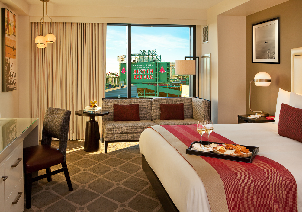 The Hotel Commonwealth, the official Boston Red Sox Hotel