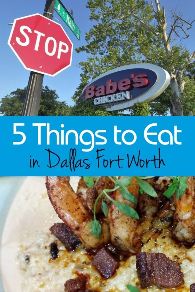 5 things to eat in dallas