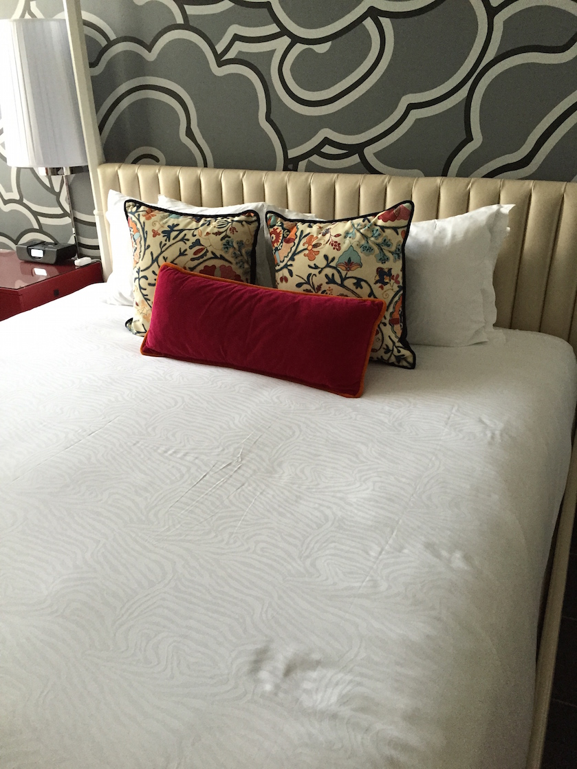 Sleep well with Kimpton Hotels comfy beds.