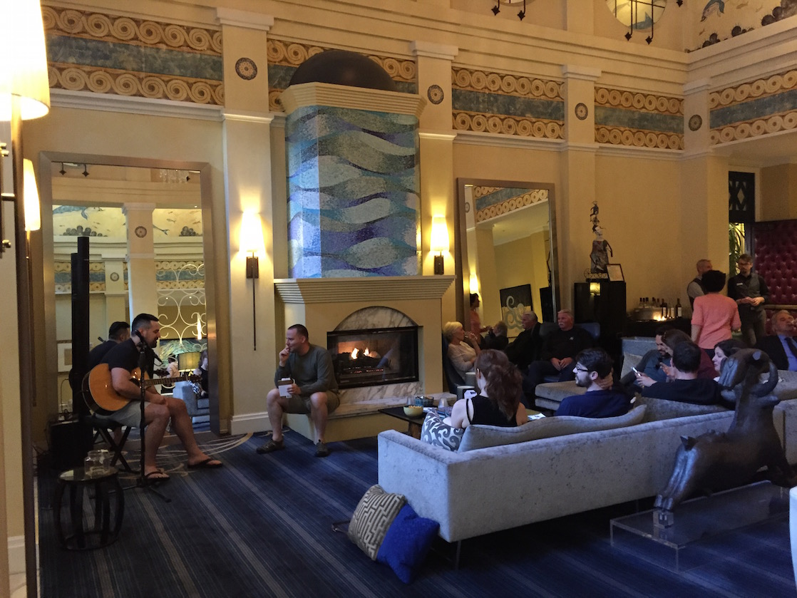 A touch of Austin in Seattle: free drinks and free live music at Kimpton hotel's Hotel Monaco in Seattle