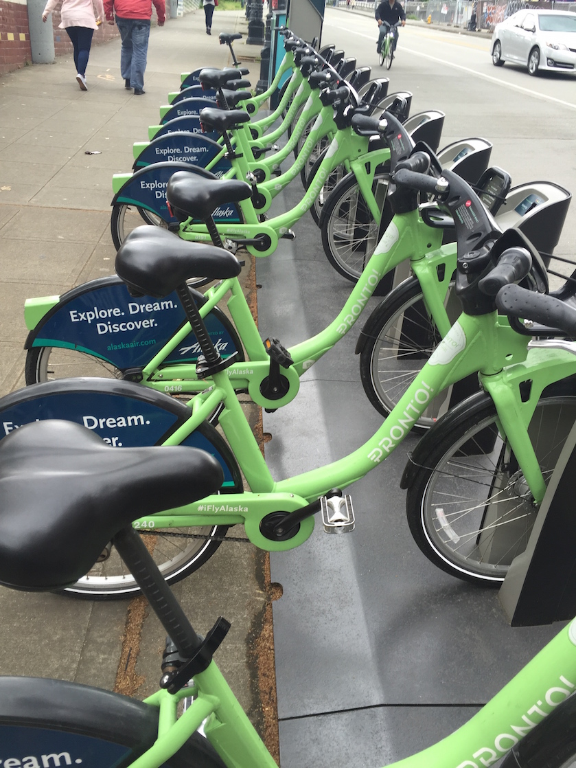 Not staying at a Kimpton Hotel? Ride a Pronto bike