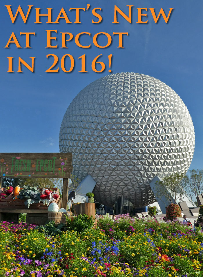 What's New at Epcot