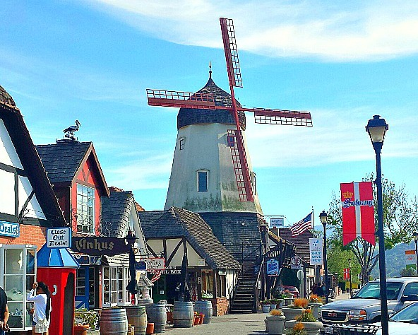 Bring Your Kids And Your Dogs To Solvang, California