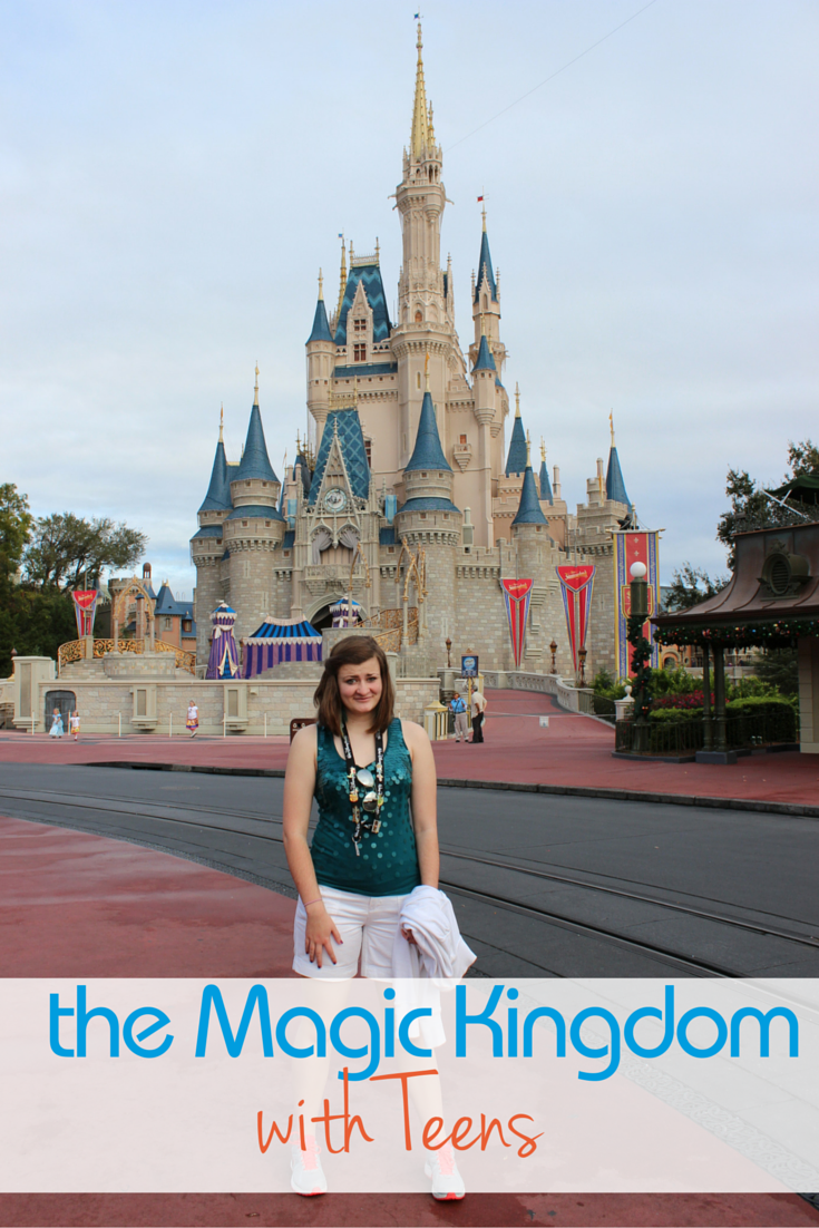 Visiting the Magic Kingdom with Teens