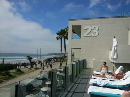 Relax On The Deck Overlooking Pacific Beach Photo Credit Gwen Kleist Healthy Travelingmom