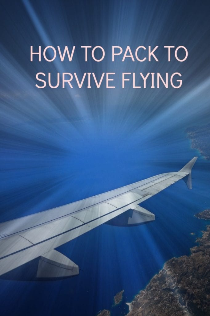 Tips on packing for air travel