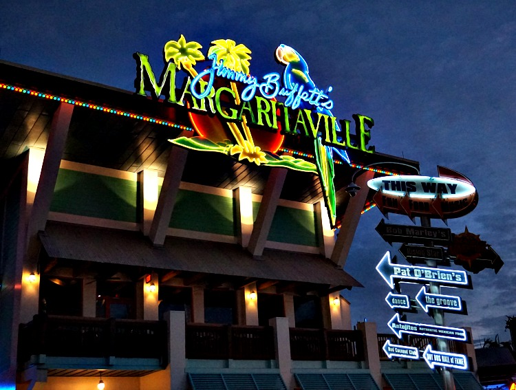 For your dining and drinking pleasure - Jimmy Buffet's Margaritaville at Universal CityWalk Orlando