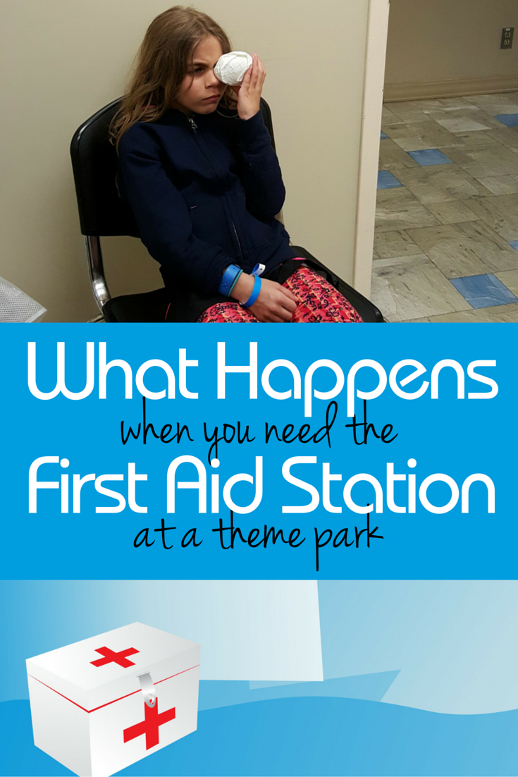 What Happens When You Need The First Aid Station at a Theme Park
