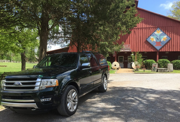2016 Ford Expedition at the Museum of Applachia in TN on a mother-daughter road trip.