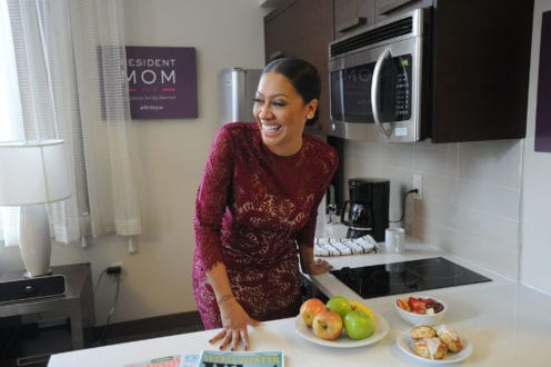 La La Anthony, residence inn, hotel kitchens, summer family travel tips