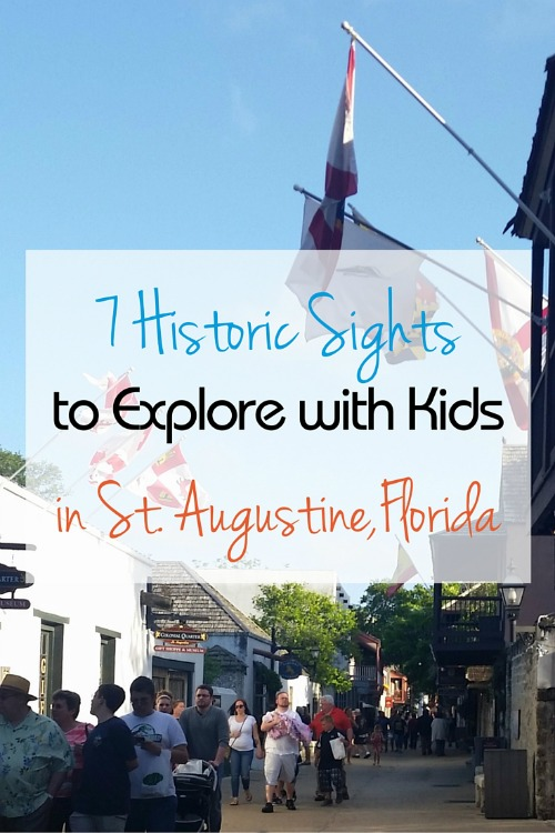 7 historic sights to explore with kids in st. augustine florida