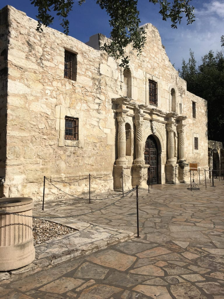 The Alamo was the first mission built by the Franciscan friars in 1718, long before the battle in 1836. UNESCO World Heritage Site, Texas, San Antonio Missions,