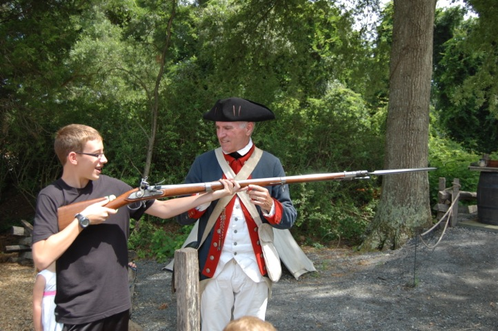 Living History Museum at Yorktown in Greater Williamsburg VA