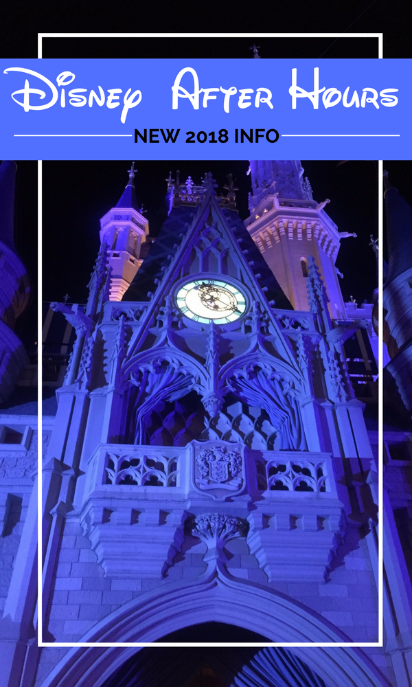 Disney After Hours: don't let the clock strike midnight and not be able to experience this limited crowds event.