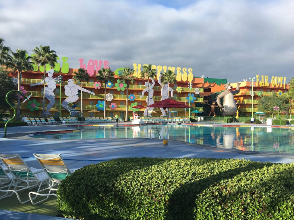 The Pop Century Resort is a hit with the young at heart and your wallet. Walt Disney World Resort,