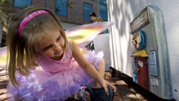 Fairy doors are one of the fun free things to do in Ann Arbor, Michigan