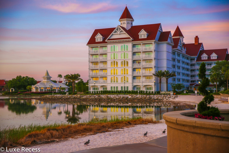 The Villas, DVC properties, are in the newest building at the Grand Floridian resort.