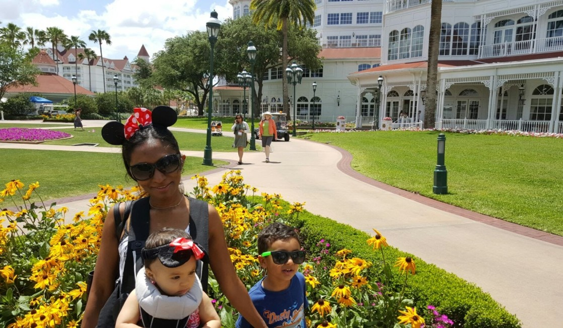 Where to stay on a walt disney world vacation with a baby