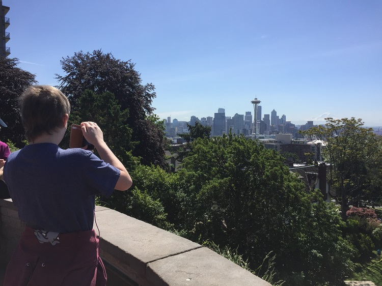 Kerry Park in Seattle