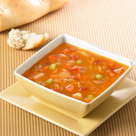 Maryland Crab Soup available at Maryland House. Image via Phillips Seafood.