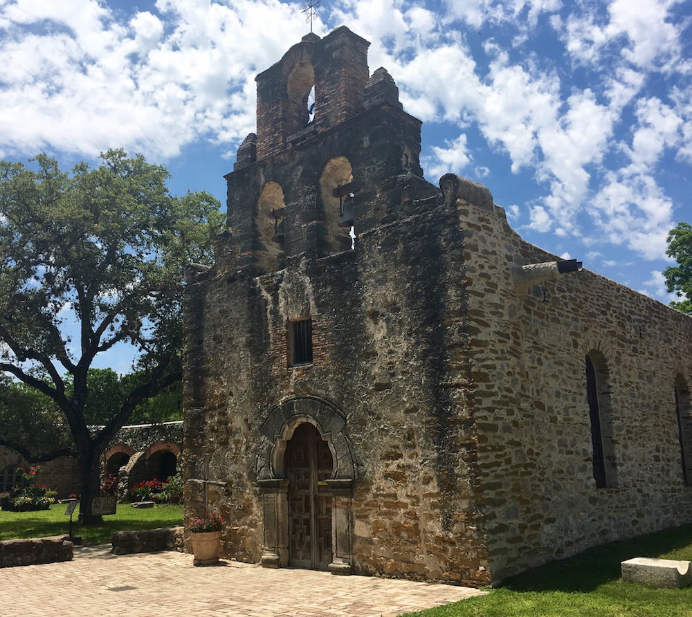 Mission Espada is the last mission on San Antonio's Mission Trail. Don't miss this historical learning experience. Photo Credit: Catherine Parker / National Parks TravelingMom #travelingmom #sanantonio #unesco #sanantoniomissions