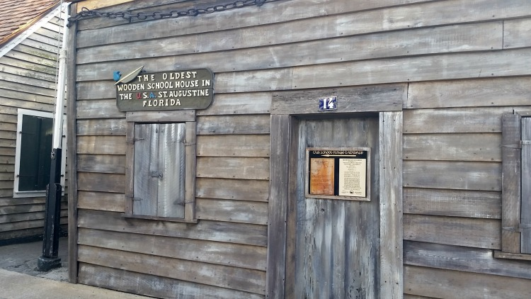 Oldest Wooden School House in St. Augustine, Florida. Photo by Mary Moore / Retro TravelingMom