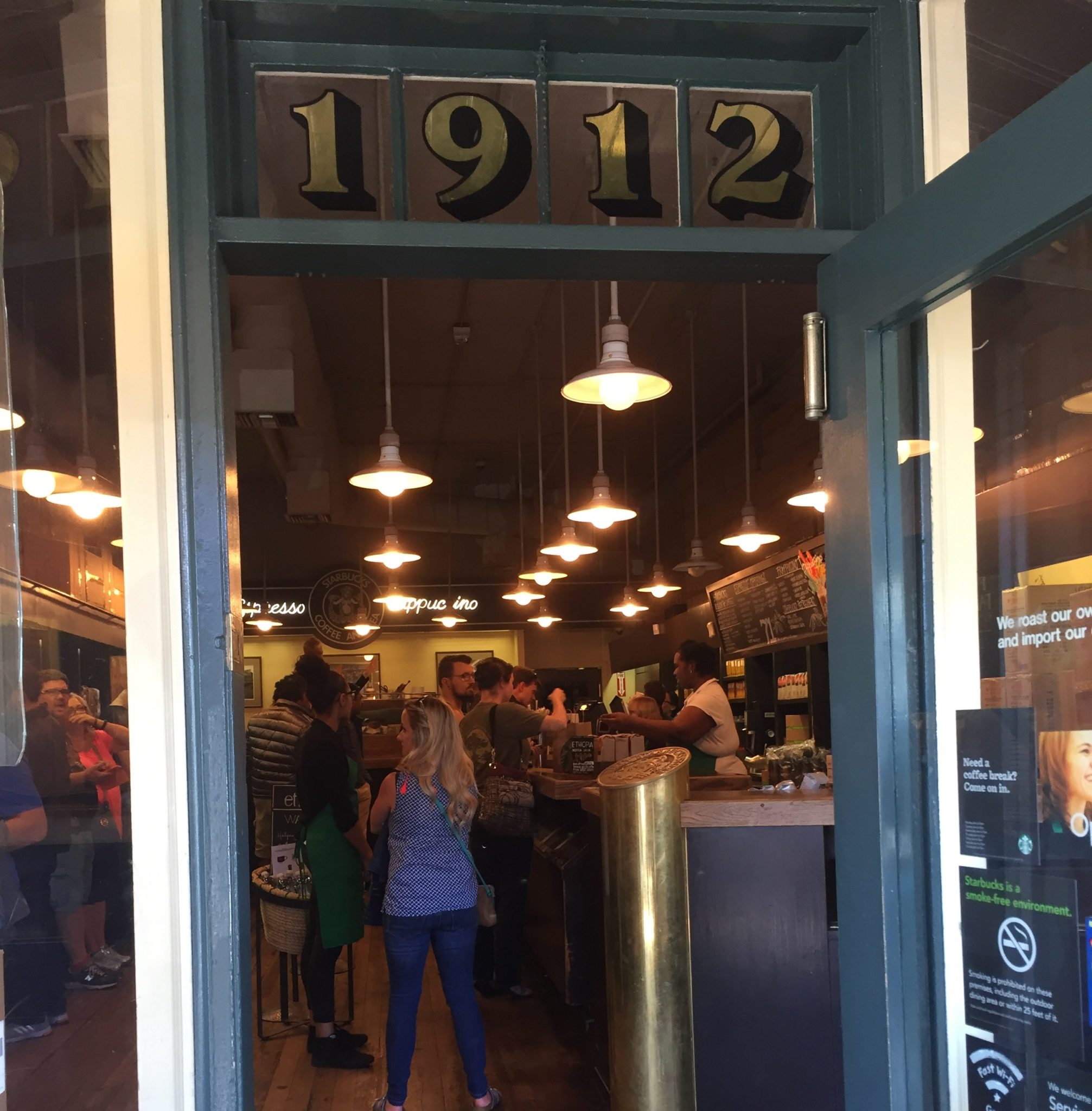 Original Starbucks in Seattle