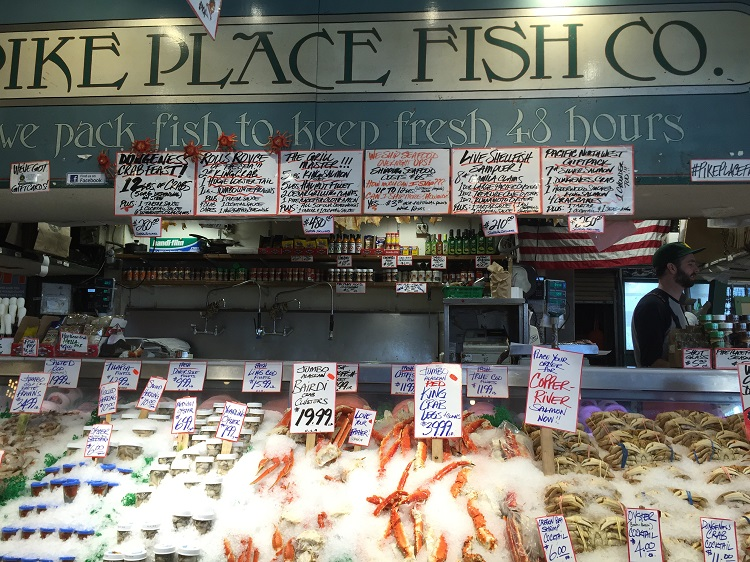 Pike Place Fish in Seattle