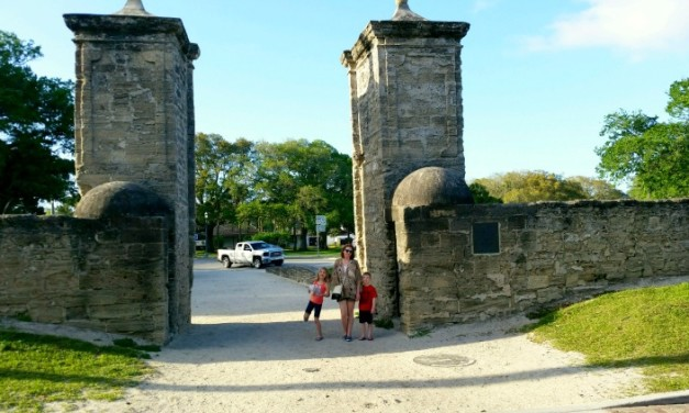 7 Historic Sights to Explore with Kids in St. Augustine, Florida