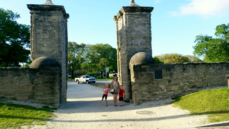 Exploring the Old City in St. Augustine, Florida with Kids