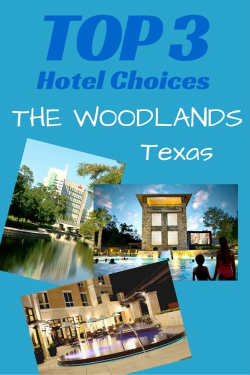 what are the best hotels in the woodlands