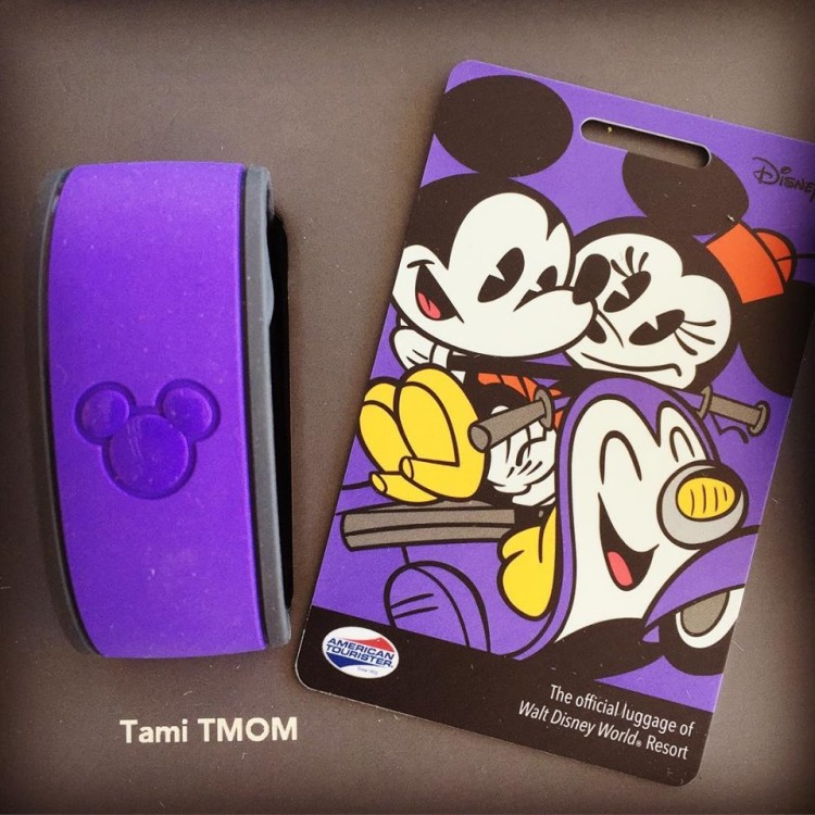Top Reasons to Stay On-Property at Disney World Resort Magic Band and Luggage Tag