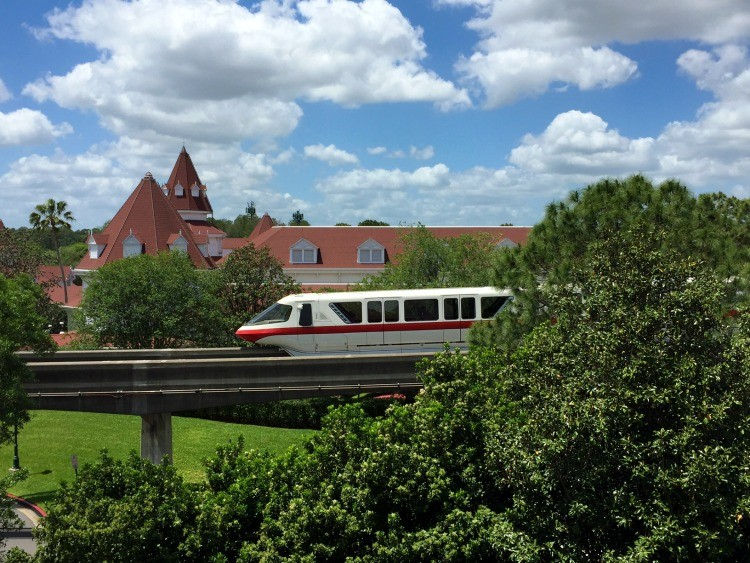 Top Reasons to Stay On-Property at WDW monorail